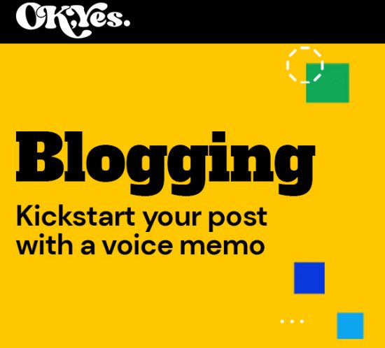 Article with tips for blogging